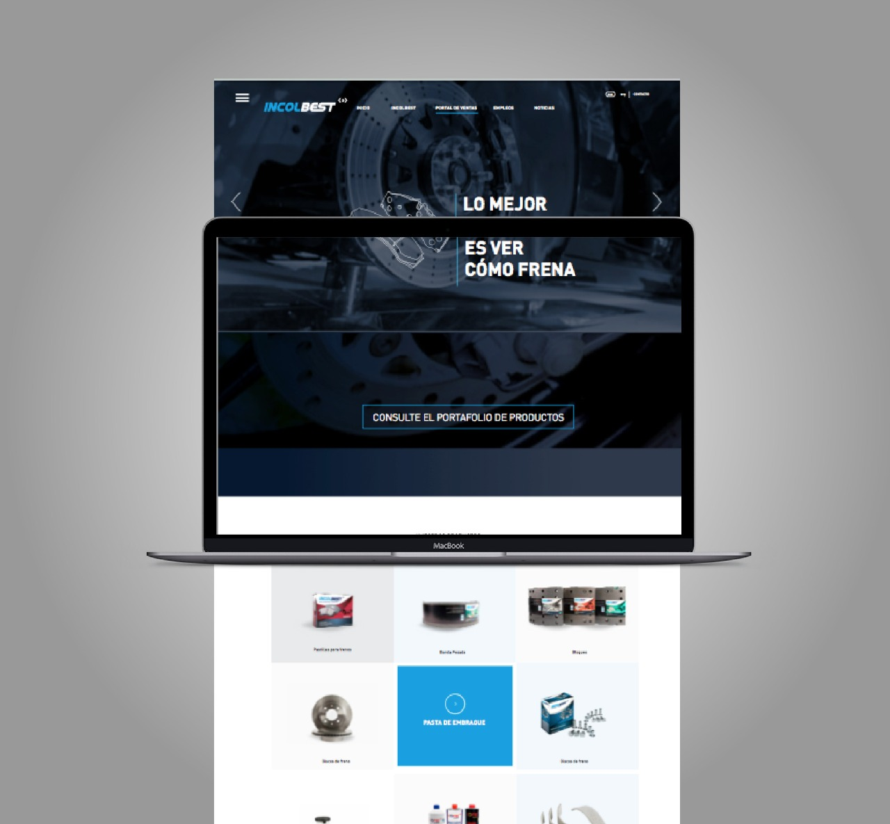 Incolbest – Web Design