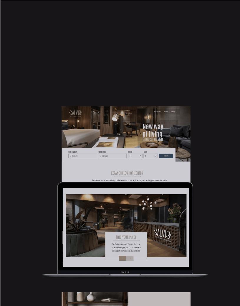 Página web UX design / App / PWA