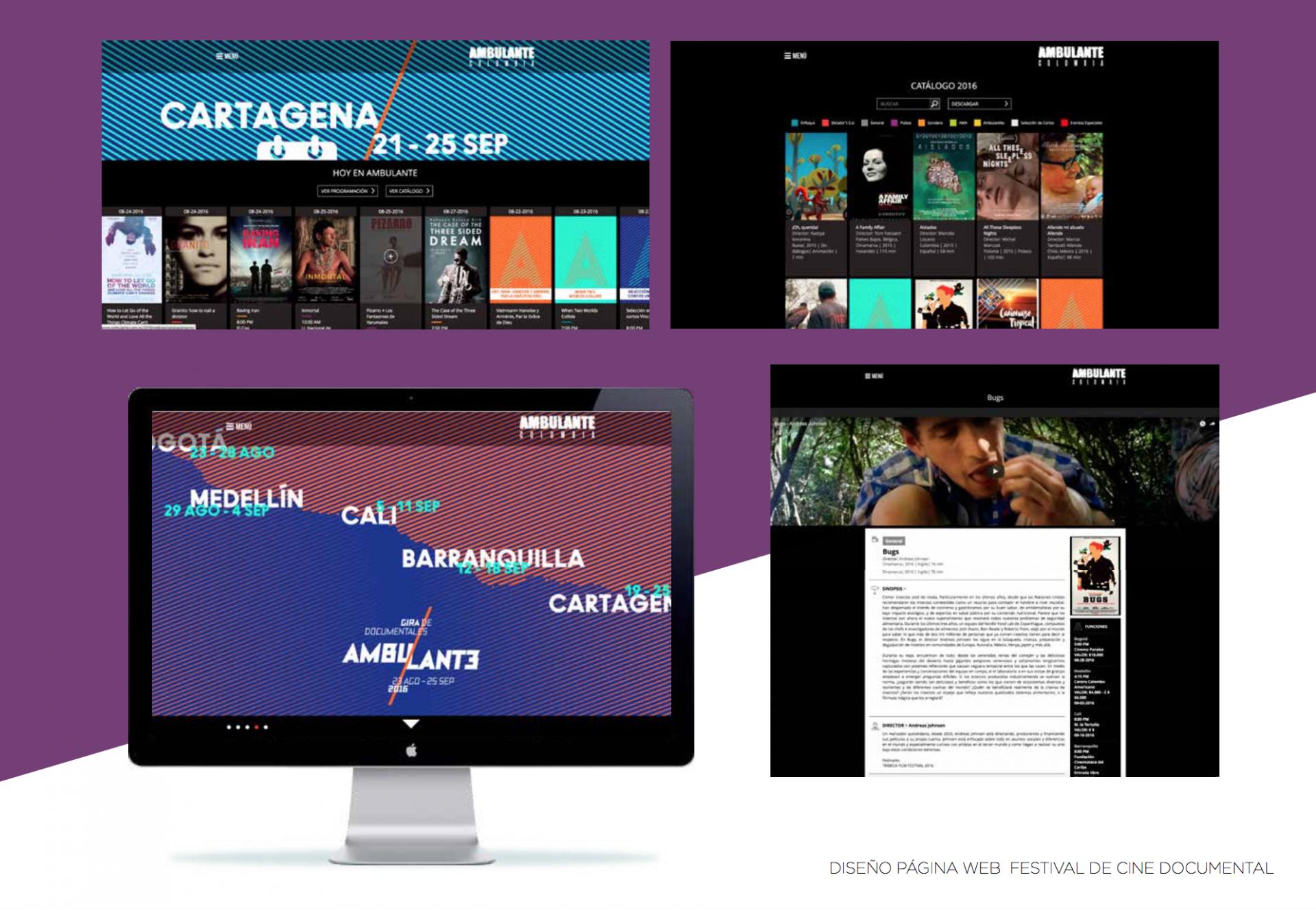 Festival de Cine Ambulante – Web