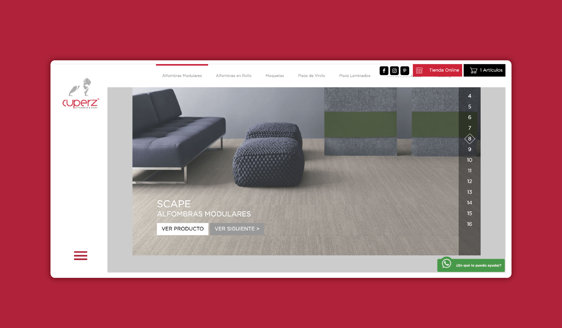 Cuperz – Web